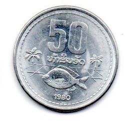Laos - 1980 - 50 Att - Sob/Fc