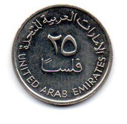 Emirados Árabes Unidos - 1995 - 25 Fils - Sob/Fc