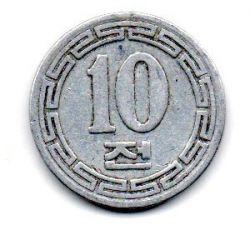 Coreia do Norte - 1959 - 10 Chon - Mbc