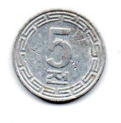 Coreia do Norte - 1974 - 5 Chon - Mbc