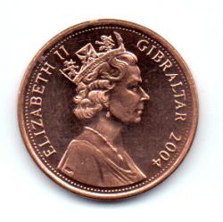 Gibraltar - 2004 - 1 Penny - Sob/Fc