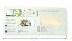Folder para Cédula de Um Real - (NÃO INCLUSO CÉDULA)