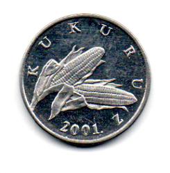 Croácia - 2001 - 1 Lipa