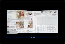 Folder para Cédula de 50 Reais 2ª Família - (NÃO INCLUSO CÉDULA)