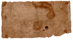 .R019 - 2 Mil Réis - Cédula Brasil Império - Data: 1860