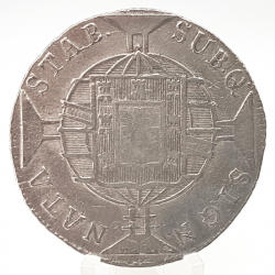 1819R - 960 Réis - Prata - Patacão - Moeda Brasil Reino