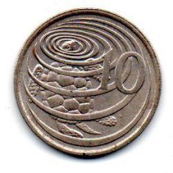 Ilhas Cayman - 1990 - 10 Cents