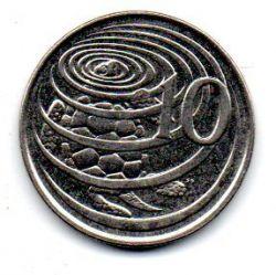 Ilhas Cayman - 1996 - 10 Cents
