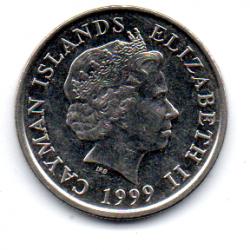 Ilhas Cayman - 1999 - 10 Cents