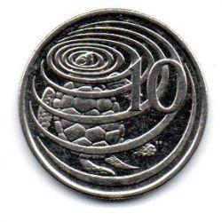Ilhas Cayman - 2002 - 10 Cents