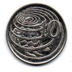Ilhas Cayman - 2005 - 10 Cents