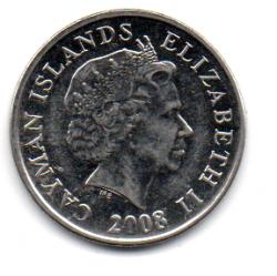 Ilhas Cayman - 2008 - 10 Cents