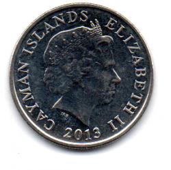 Ilhas Cayman - 2013 - 10 Cents
