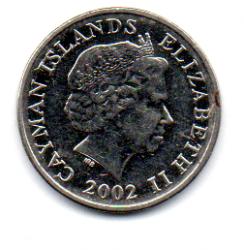 Ilhas Cayman - 2002 - 5 Cents