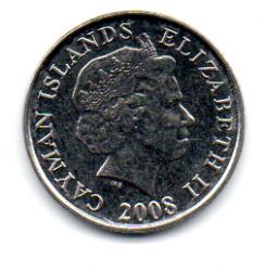 Ilhas Cayman - 2008 - 5 Cents