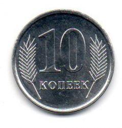 Transnístria - 2005 - 10 Kopecks - Sob/Fc