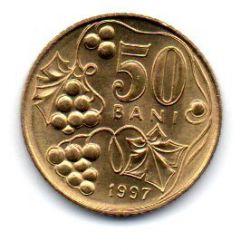 Moldávia - 1997 - 50 Bani - Sob/Fc