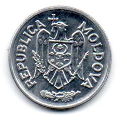 Moldávia - 1993 - 50 Bani - Sob/Fc