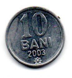 Moldávia - 2003 - 10 Bani - Sob/Fc