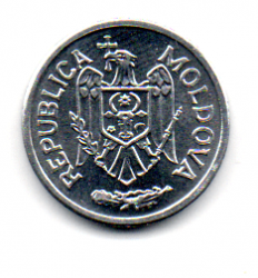 Moldávia - 2002 - 5 Bani - Sob/Fc