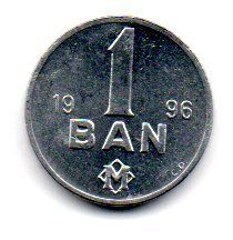 Moldávia - 1996 - 1 Bani - Sob/Fc