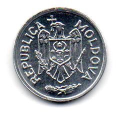 Moldávia - 2001 - 5 Bani - Sob/Fc