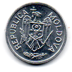 Moldávia - 2002 - 25 Bani - Sob/Fc