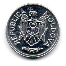 Moldávia - 2003 - 5 Bani - Sob/Fc