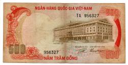 Vietnã - 500 Dong - Mbc