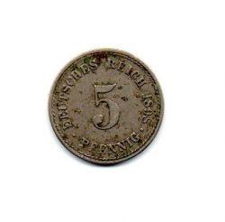 Alemanha Império - 1898A - 5 Pfennig