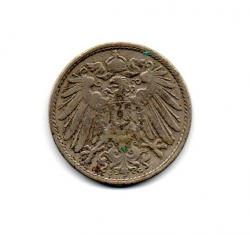 Alemanha Império - 1900G - 10 Pfennig