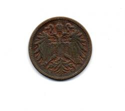 Monarquia Austro-Húngara - 1912 - 2 Heller