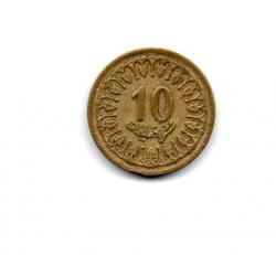 Tunísia - 1960 - 10 Milim