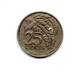 Trinidad e Tobago - 1977 - 25 Cents