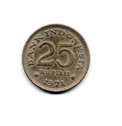 Indonésia - 1971 - 25 Rupiah