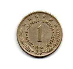 Iugoslávia - 1974 - 1 Dinar