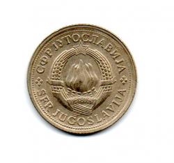 Iugoslávia - 1976 - 1 Dinar
