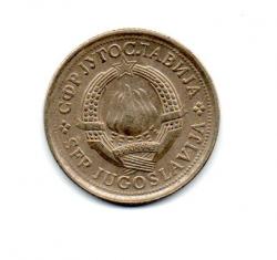 Iugoslávia - 1977 - 1 Dinar