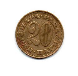 Iugoslávia - 1976 - 20 Para