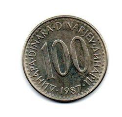 Iugoslávia - 1987 - 100 Dinara