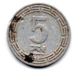 Coreia do Norte - 1959 - 5 Chon