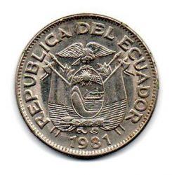 Equador - 1981 -  1 Sucre