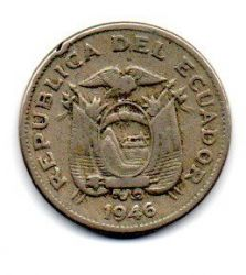 Equador -1946 -  10 Centavos