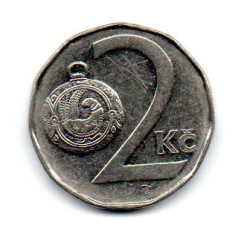 República Tcheca - 1993 - 2 Koruny