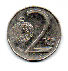 República Tcheca - 1997 - 2 Koruny