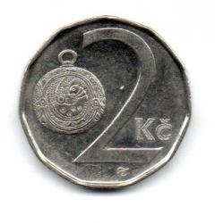 República Tcheca - 2001 - 2 Koruny