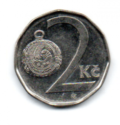 República Tcheca - 2009 - 2 Koruny