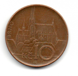 República Tcheca - 2003 - 10 Korun