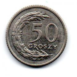 Polônia - 1992 - 50 Groszy