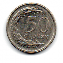 Polônia - 2014 - 50 Groszy